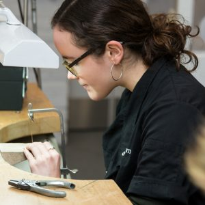 Jewellery workshop The Goldsmiths Centre